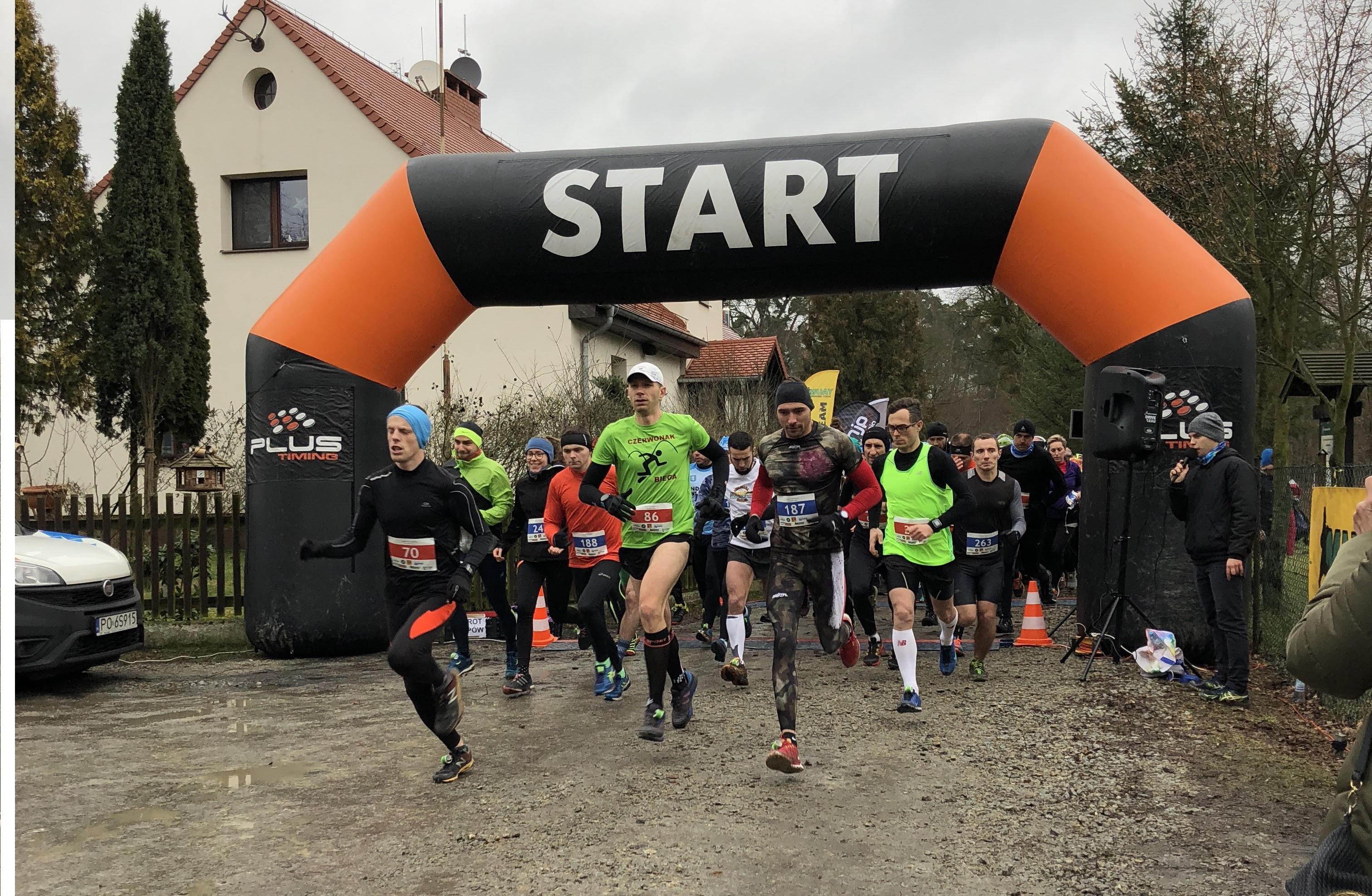 IV Zimowy Półmaraton/Ćwierćmaraton Łękno